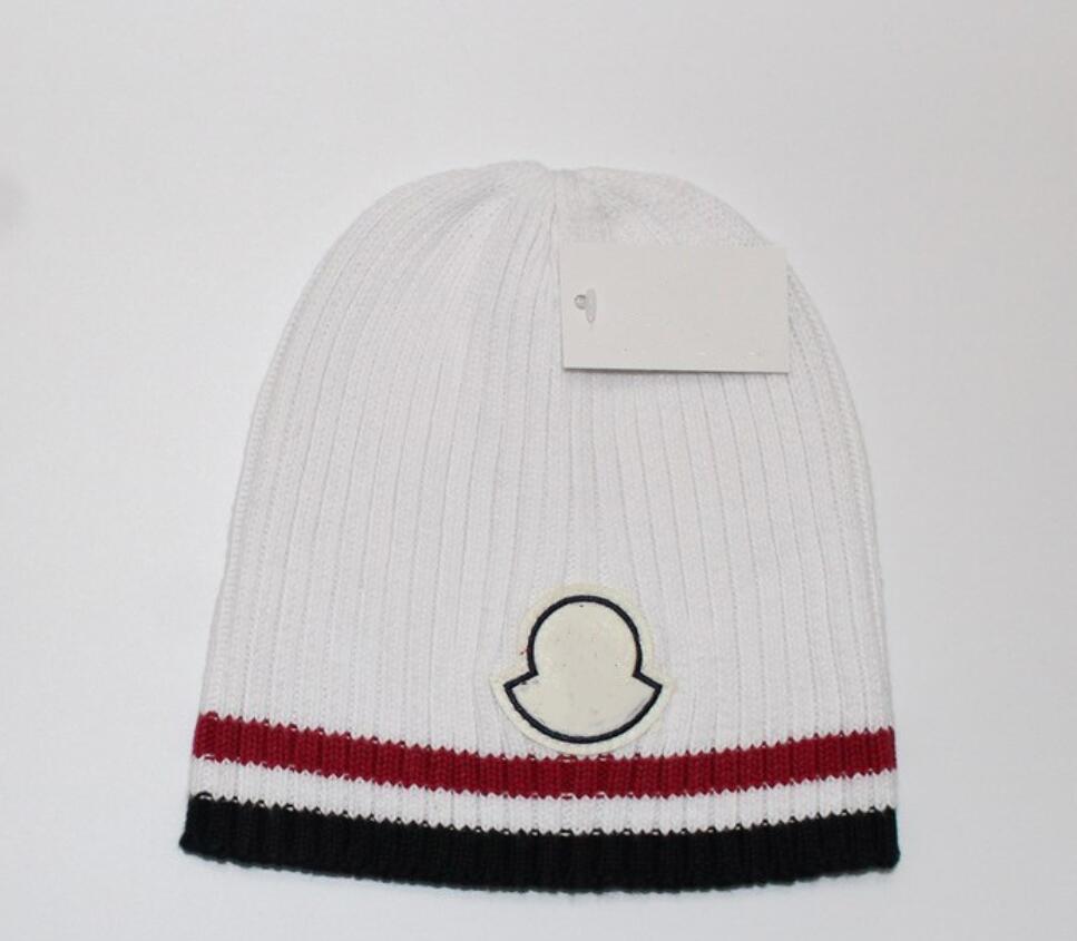 새로운 프랑스 패션 망 디자이너 모자 모자 겨울 비니 니트 양모 모자 플러스 벨벳 모자 Skullies 두꺼운 마스크 프린지 비니 모자 모자 manv