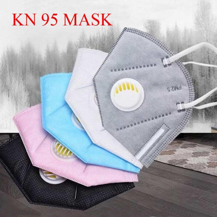 kn95 قناع FFP2 مصمم قناع الوجه القابل للتصرف قناع غير المنسوجة الغبار صامد للريح تنفس النسيج واقية وأقنعة الفم أسود رمادي أبيض