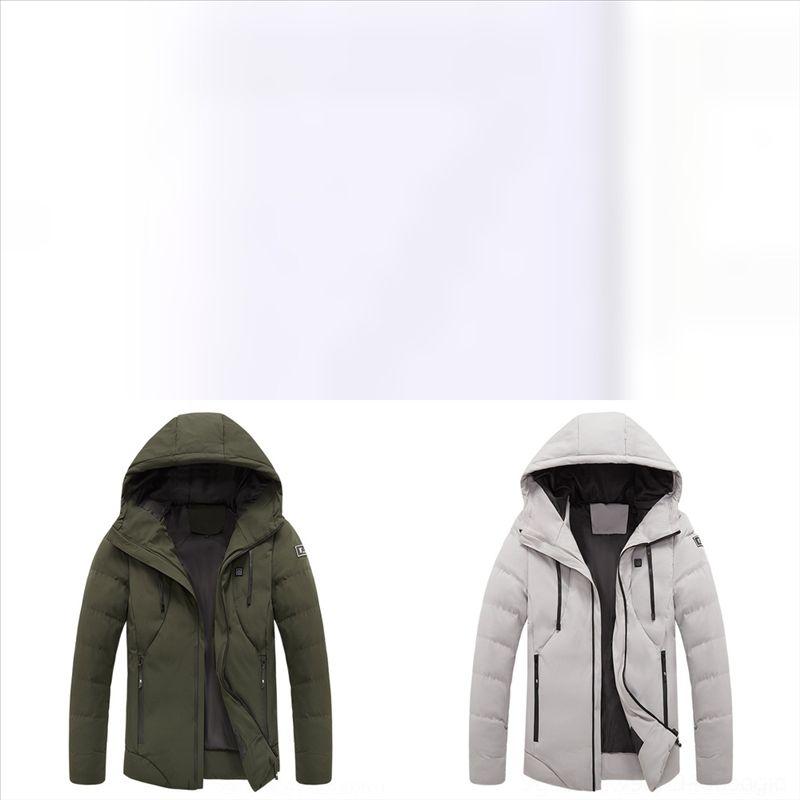 Rf4 niños moda capa de alta calidad de la temporada de invierno abajo chaqueta colorida brillante arco iris grueso tibio con capucha de algodón cálido abajo años de edad de bebé