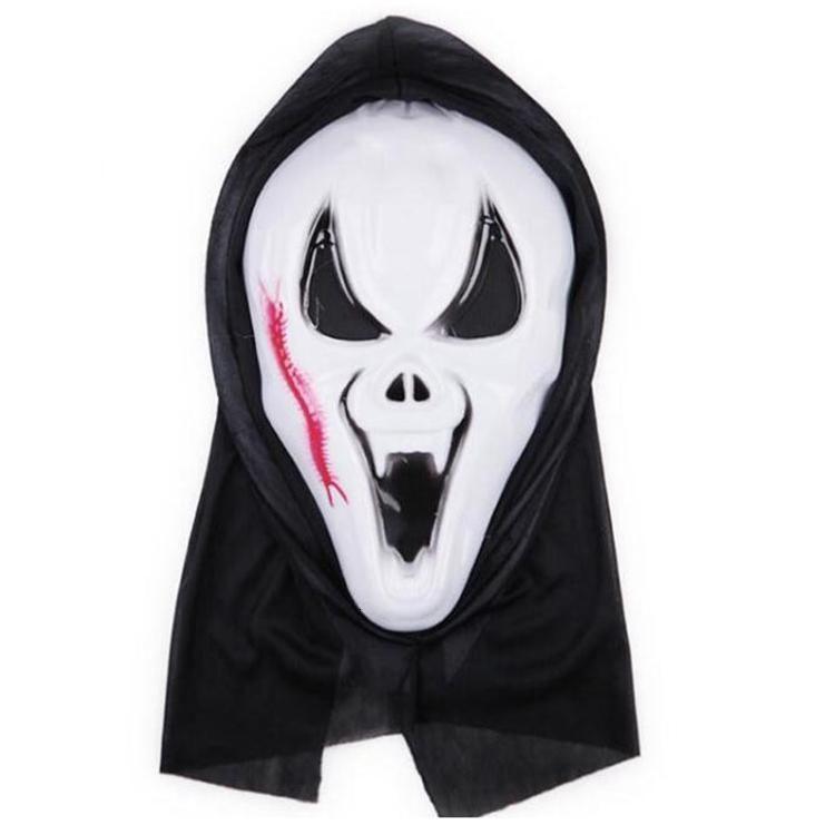 Party Rings Череп Хэллоуин для масок Женщины Декор Гримаса Ужас Полный DHF279 Скелет Masquerade Лицо Мужчины кричащие NDEXF