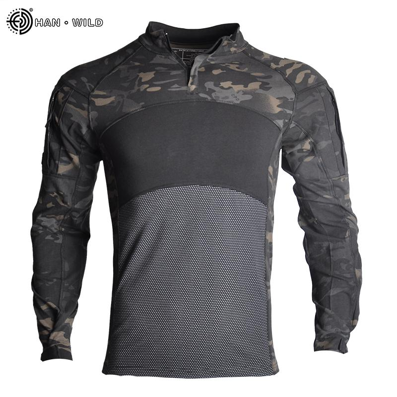 News Combat Shirts Proven Tactical Clothing Military Uniform CP Camouflage Airsoft Army Suit Breathable Work Clothes Drop Shopping