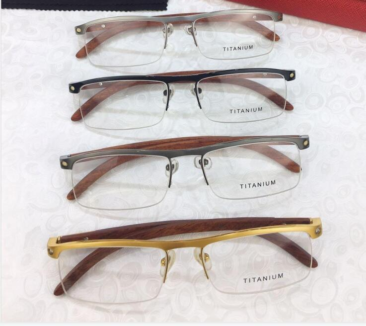2021 Новые очки de Frame Lense Meopia Clear Myopia Ретро Окутос очки Grau Eyeglasses Рамы Женщины Мужчины и очки с коробкой PGOVC