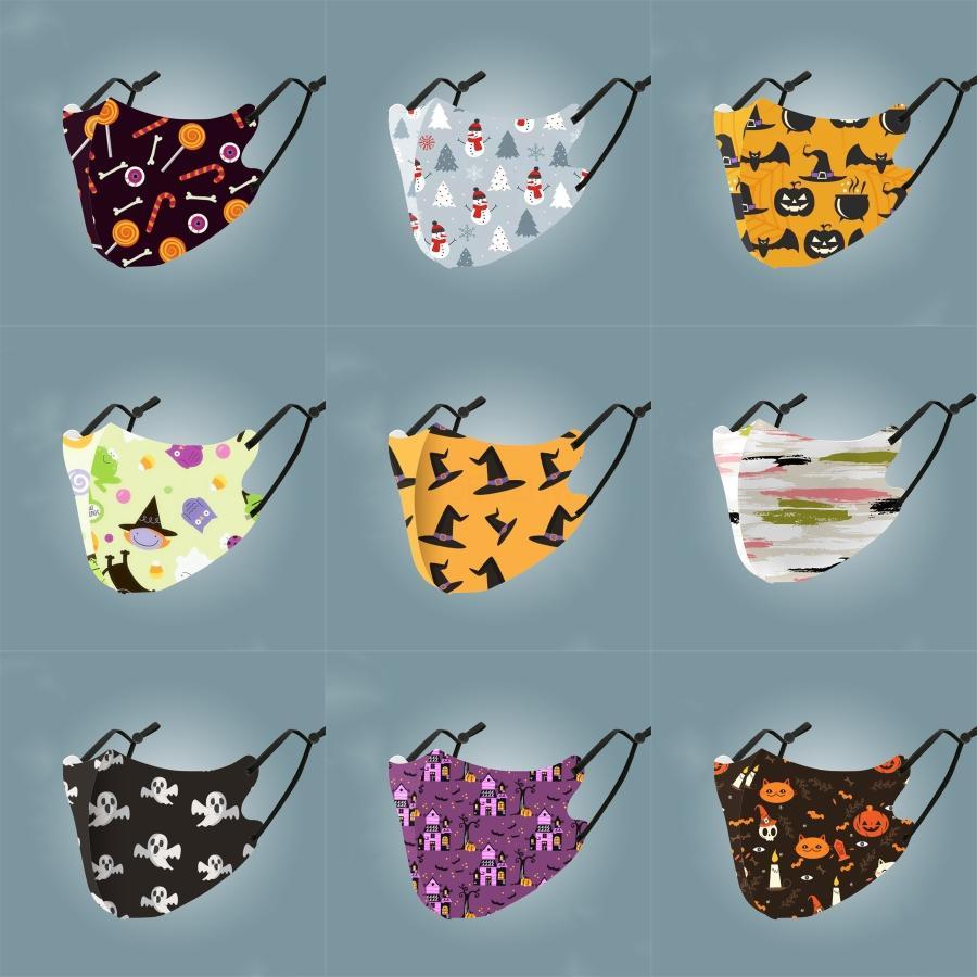 Máscaras de verão respirável leopardo máscara máscaras Feminino de equitação à prova de poeira impressão Máscaras # 530