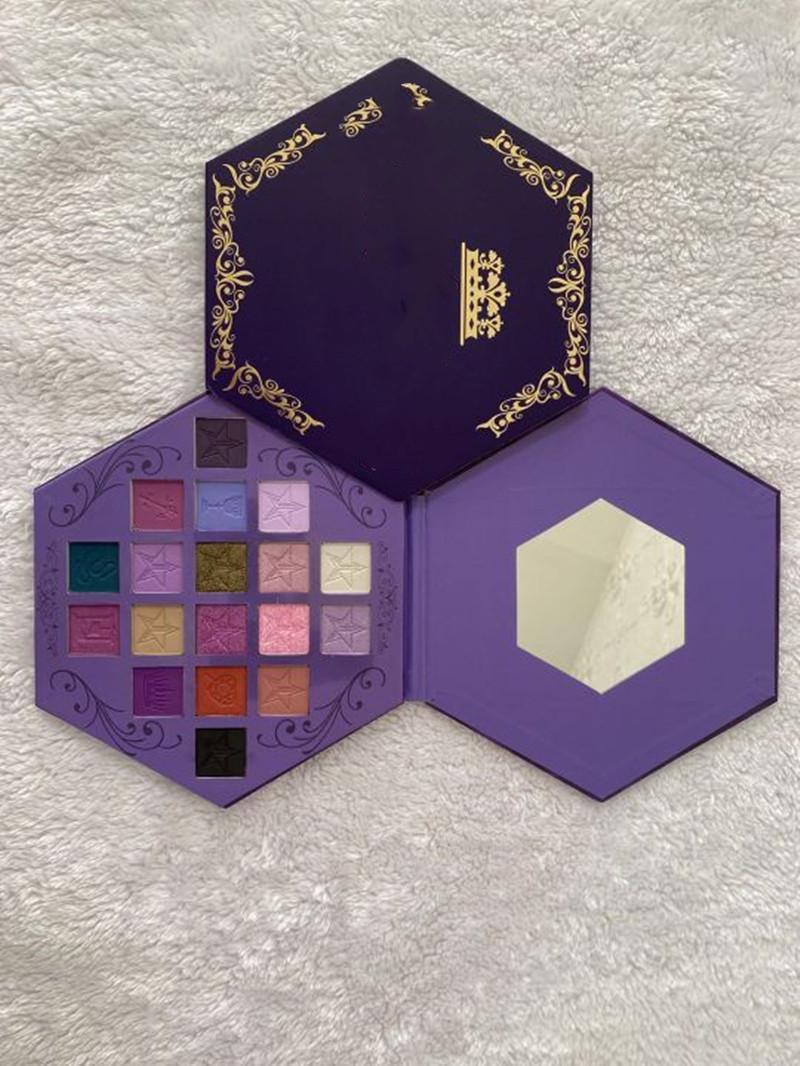 Новейшая J Star 18 ocelors Lust Tireshadow Shimmer и Matee Palette Palette Eyeshadow Cosmetic Artistry Palette
