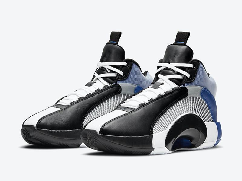 أطفال AJ 35 الأبيض الأسود الرياضة الأزرق كرة السلة أحذية جديدة jumpman xxxv sp tp pf الرجال النساء الأحذية الرياضية الحجم 4-12