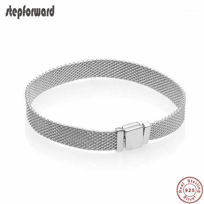 New Collection 925 Sterling Silver Simple Reflexions Bracelet High Quality Popular Fashion Bracelets For Women Gift1
