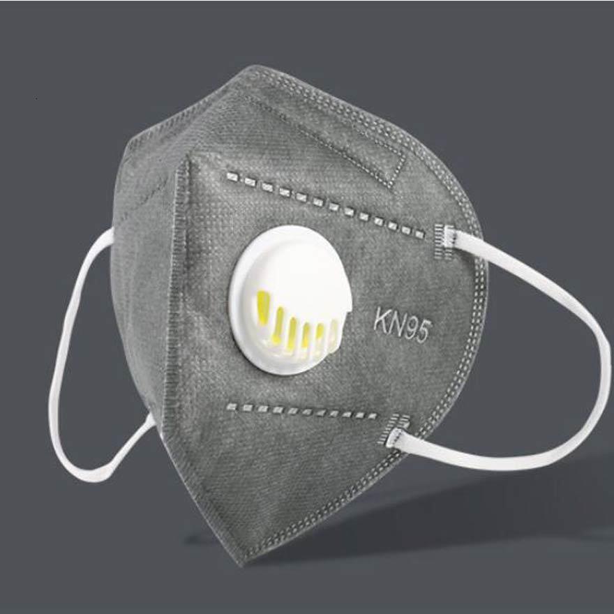 Máscara para adultos Cara de diseñador 100pcs K95 Máscaras blancas no tejidas desechables con filtro a prueba de polvo a prueba de viento RespiratxHJ6RJ