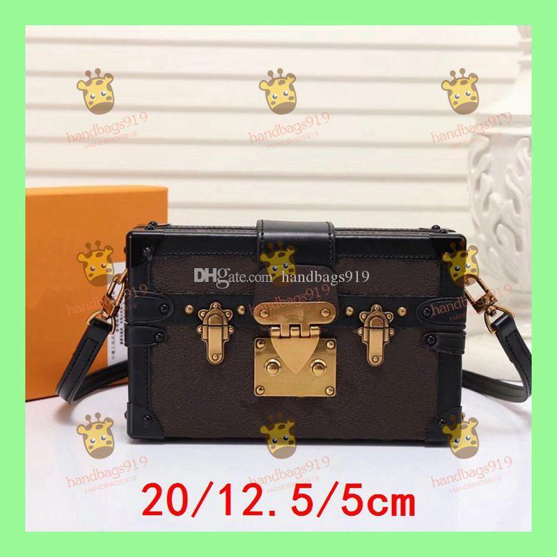 Trunk Bag shoulder bag PETITE MALLE bags PETITE MALLE M54650 Bolso baúl de color Bolso bandolera Moda para mujer Mini bolsos cruzados clásicos Moda