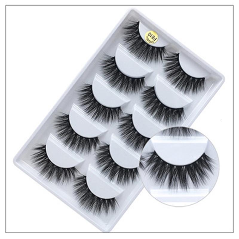 3d plus récent Vison Cils épais naturel Faux Cils Mink cils Maquillage maquillage pour les yeux Cils Extension Faux Cils Maquiagem