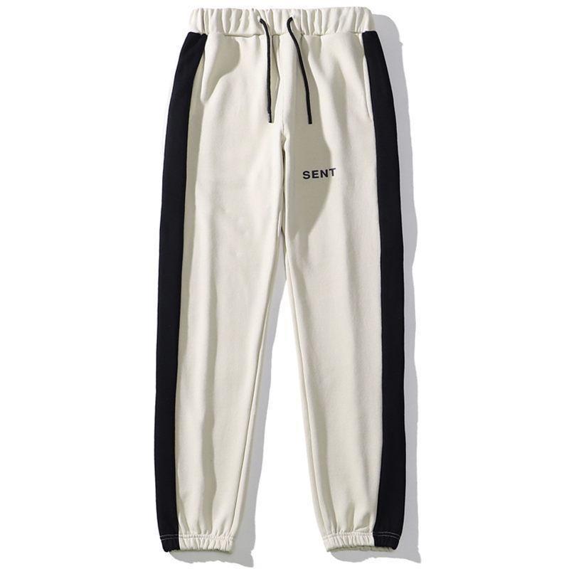Famous Mens Pant High Street Drawstring Cozy Terry Pants 2021 Men Women Stylist Hip Hop Jogger Trousers