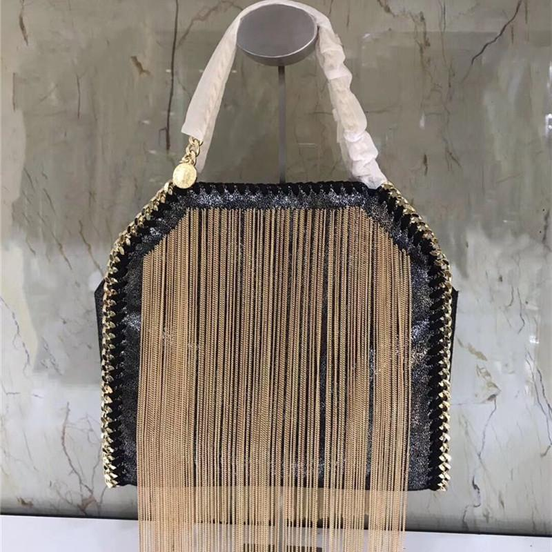 Personalized tassel bag 2020 new hot Single Shoulder Bags Messenger Bag European and American fashion chain small square bag women's handbag