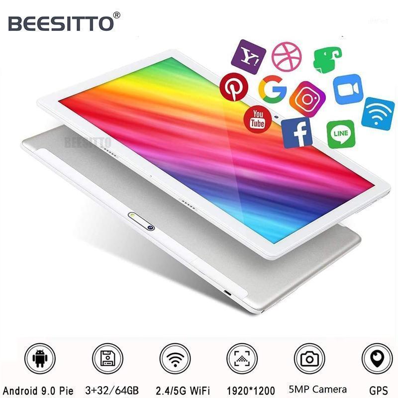 10 inç Tablet PC MT6762 Octa Çekirdek Android 9.0 Google Play 4G LTE FDD WIFI GPS 2.5D 1920 * 1200 IPS Tabletler 10.1 + Gifts1
