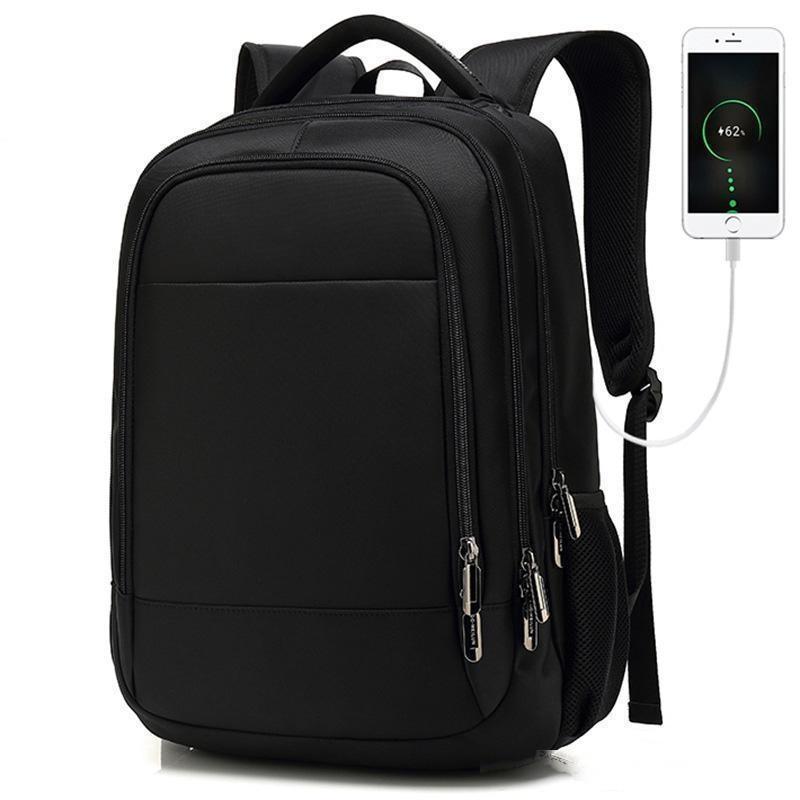 Viagem Mochila Grande Capacidade Adolescente Masculino Mochila Voltar Anti-ladrão Saco 17,3 Laptop Backpack Backbags impermeáveis