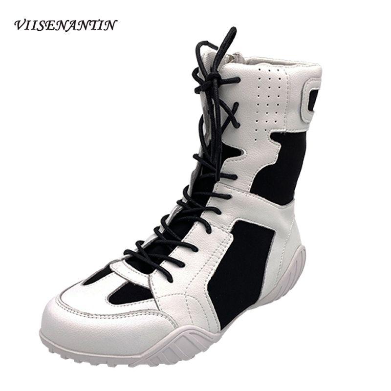 Top Top Frework Shoes Blanco Mujeres Multi Color Coreano Redondo Toe NUEVO Encaje-up Cuero genuino Botas delgadas Pisos transpirables