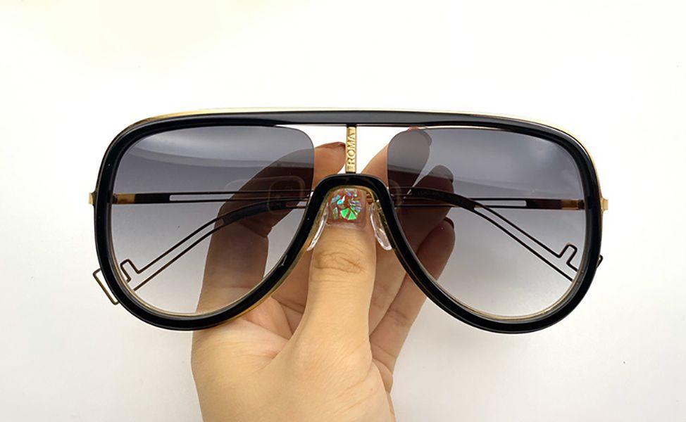 0068 Yeni Moda Güneş Gözlüğü Ile UV Koruma Kadınlar Için Vintage Oval Tahta Çerçeve Popüler En Kaliteli Case Klasik Güneş Gözlüğü Ile Gel