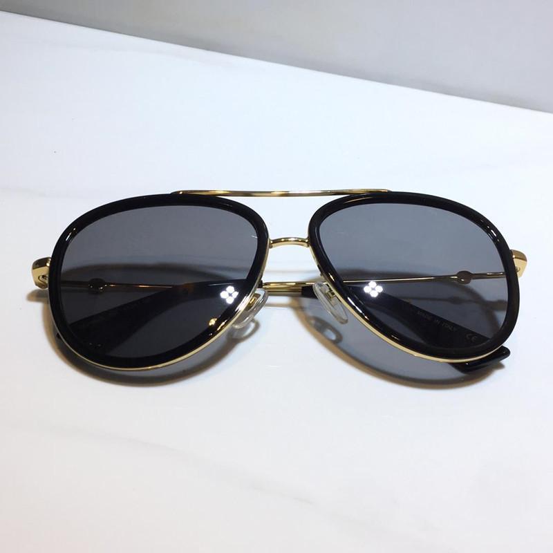 0062 солнцезащитные очки для женщин классического металла Летняя мода Стиль и Plank кадров популярных глаз очки верхнего качества защитных очков УФ-объектива Защита
