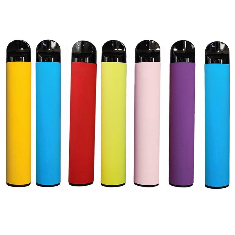 일회용 Vape 펜 스타터 키트 5ml의 최대 처분 할 수있는 장치는 포드 기화기 키트 E 담배 빈 사용자 정의 만든 포장 (10 개) 색상을