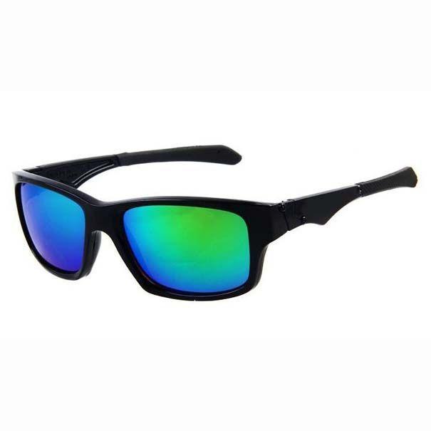 Moda Hombres Las gafas de sol del estilo de vida Square Prizm Diseñador Júper Deportes Gafas Marca Gafas de sol con 18c9 casos