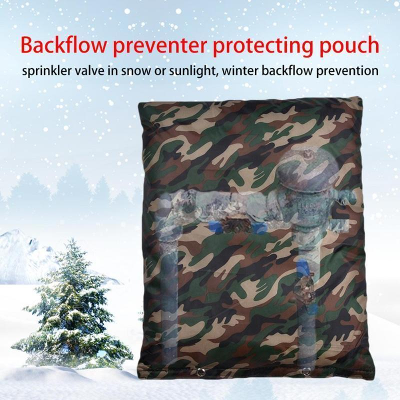Winter Outdoor Garden Faucet Prevent Freezing Protective Cover Protector Anti-Freeze Courtyard Bursting Pipes Insulated Pouch1