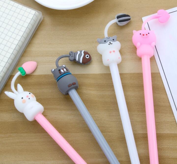 Papeterie créative Simple et frais tentacules de gel animal stylo de gel mignon paradis de stylo mignon stylo or stylo noir