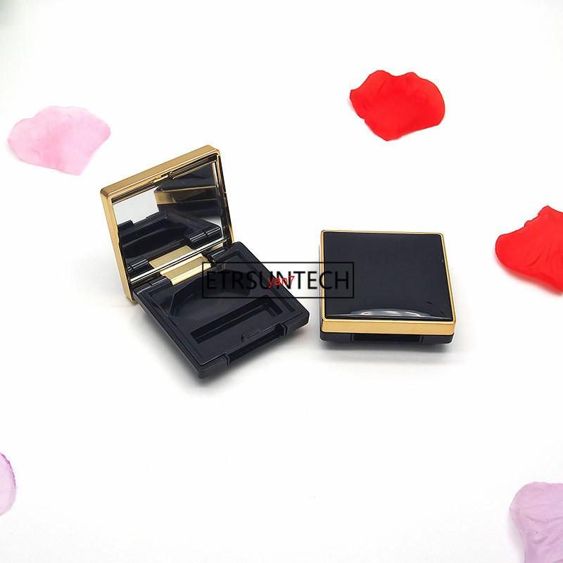 100pcs Women Empty Palette Eyeshadow Blusher Lipstick Lip Gloss Powder Fundation DIY Refill F2239good qualtitygood shopping
