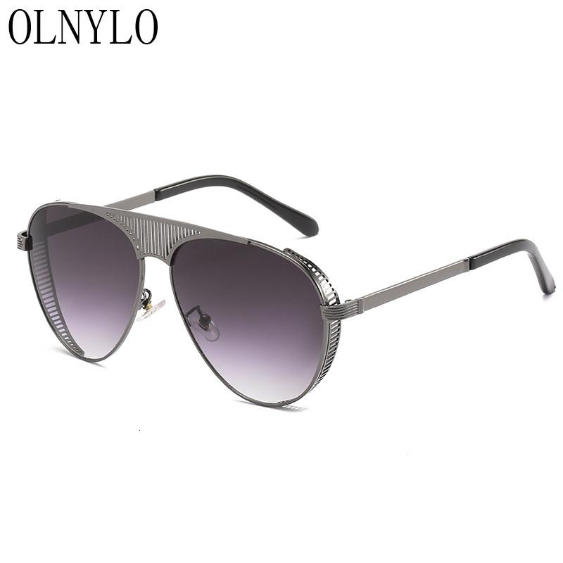 New Lady Sun Brand Designer Mujeres Mujeres Gafas de sol Sun Extraso Estilo Conducción Femenino Gafas De Piloto Oculos Eyewear Macho Lujo Sol RMCQH
