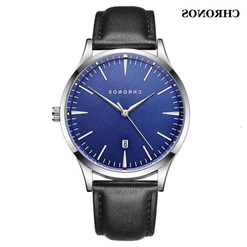 Cinturón de malla casual Impermeable Moda deportes de negocios Reloj de los hombres de los hombres