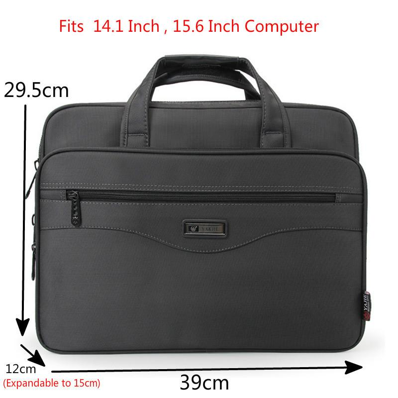 HBP Waterproof Oxford Cloth Men Computers Handbags Men's Business Briefcase Laptop BagBusiness Portfolios Man Shoulder Travel Bags Q0112