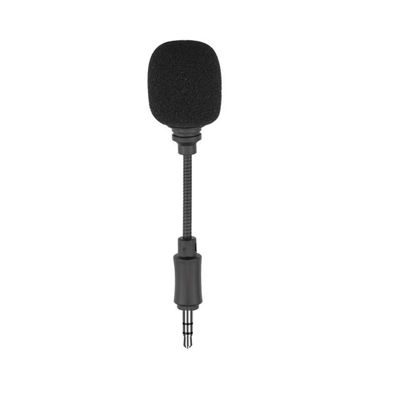 DJI OSMO Pocket Eylem Kamera için 3.5mm Mini Mikrofon In-Line Üçlü Kutup Kısa Mikrofon