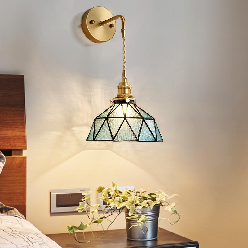 Lüks Oturma Odası Nordic Otel Yatak Odası Duvar Lambası Başucu Lambası Otel KTV Dekorasyon Duvar Işık Basit Koridor Koridor Banyo Aynası Işık