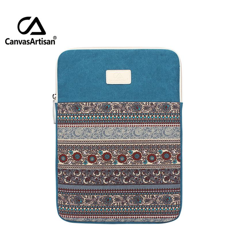 HBPCanvasartisan top quality canvas laptop bag 15 inches Apple air sleeves multufunctional briefcases retro style business bags Q0112