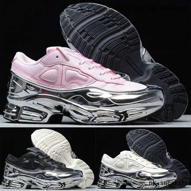 тренеры Утроитель черных кроссовки мужской случайного бега ozweego Schuhe женщины девочками 35 обувь Raf Simons дизайнер роскошь 11 евро мужчины 5 размера нас 45