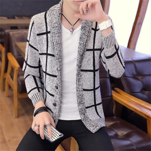 Abbigliamento maglione giacca uomo invernali Autunno spessore allentato maglione casuale maglione giovani giacche vestiti tuta sportiva del cappotto Cappotti