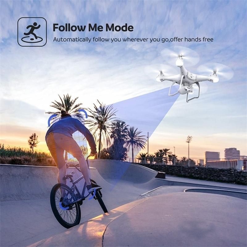 Pensico GPS RC Drone 1080P WiFi Camera FPV Video dal vivo Profesionale Dron Seguimi GPS GLSASS quadrocopter wifi rc elicottero 201221