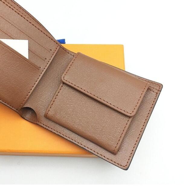 Projeto de gravação dos homens carteira de luxo embreagem mulheres carteiras designer bolsa titular de cartão genuíno com caixa