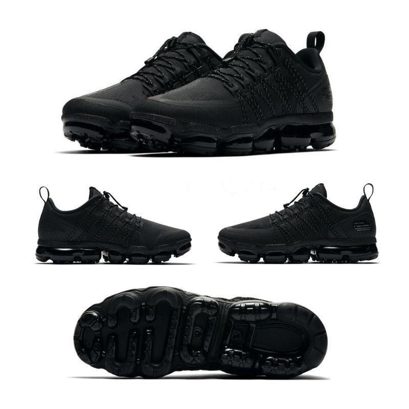 Nouvelle entreprise Utilitaire 2019 Mens de course Chaussures de course Noir Anthracite Triple Moyen Olive Olive Bourgogne Burgundy Hommes Femmes Sports Sneakers
