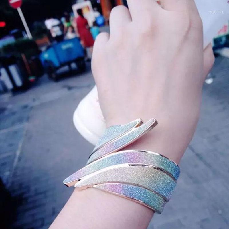 Charm Bracelets Yada Regalos Punk Design Aleación Ala Ala Brazaletes BrazaletsBangles para Mujeres Creative Crystal Jewelry Pulseras MUJER BT2003931