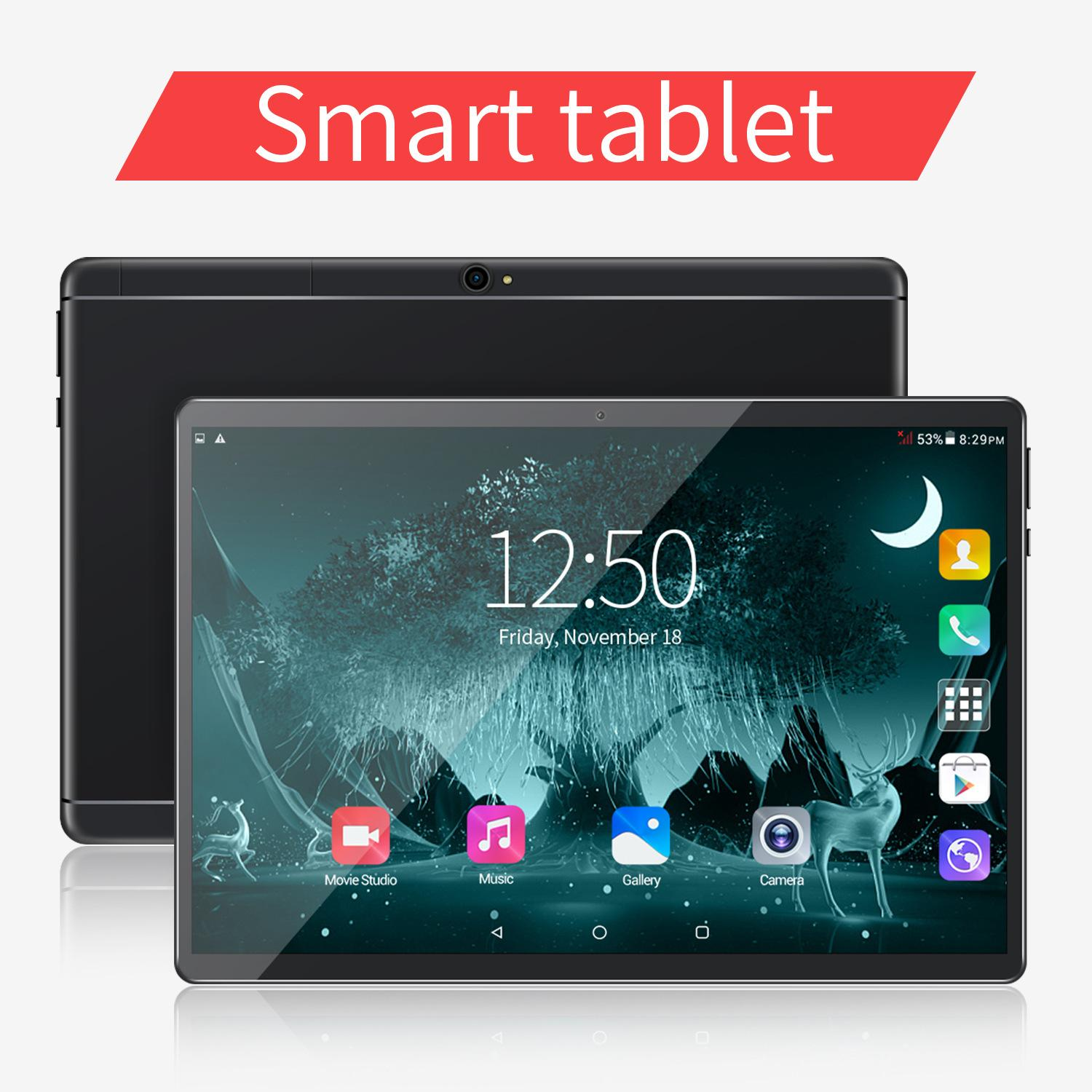 "10 inch MTK6580 IPS capacitive touch screen dual sim 3G GPS tablet pc 10"" android 8.0 Octa Core 6GB 128GB"
