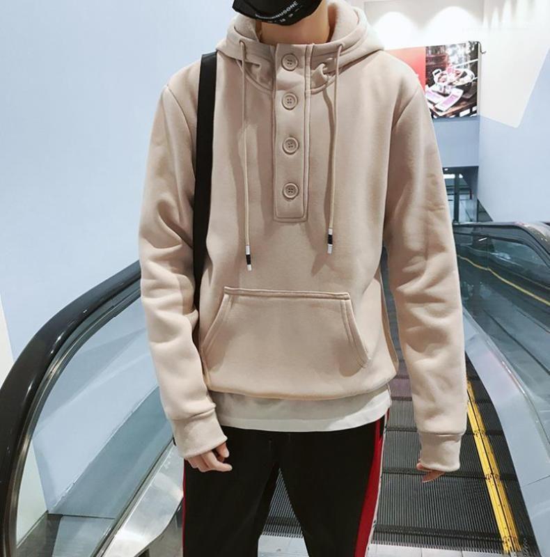 Autunno Autunno Harajuku Felpe con cappuccio a maniche lunghe con cappuccio Top a maniche lunghe 19SS Designer con cappuccio