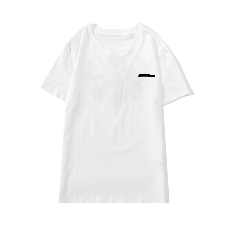 2021 Ropa para hombre y mujeres diseñador camiseta moda casual calle bordado de alta calidad negro algodón puro cómodo transpirable camisetas polos