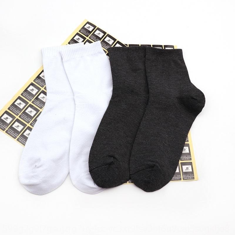 Yideshan bağımsız ambalaj düz renk erkek iş polyester pamuk Pamuk ve çorap basit eğlence spor çorap IlaCf