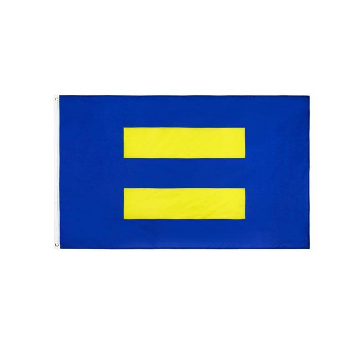LGBTQIA Homosexuell Pride HUAMN Rechts Equal Flag 3x5FT 90x150cm Flagge Festival-Party-Geschenk 100D Polyester Indoor Outdoor Printed Heißer Verkauf