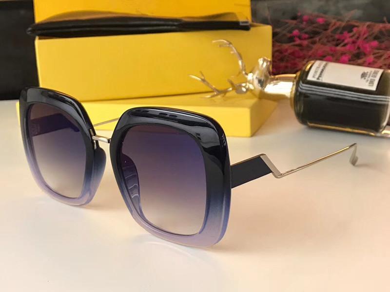 Luxo 0315 óculos de sol para as mulheres Marca Designer Popular Charme Moda óculos de qualidade Top Proteção UV Óculos de sol vem com pacote