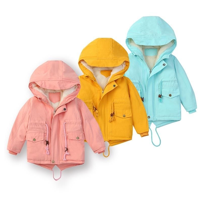 90% белая утка вниз зима новая детская одежда космос вниз куртка мальчики и девочки детские дети утолщенные короткие пальто 201216