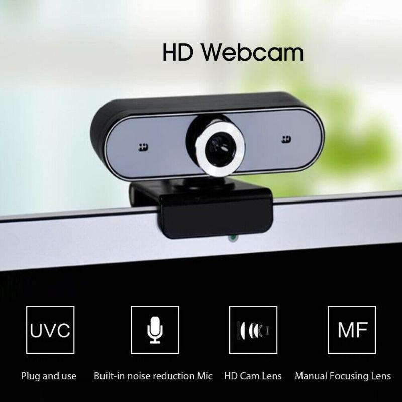 Webcam USB 2.0 Camera Digital Web Cam With Microphone Clip-On CMOS PC Camera For Computer1