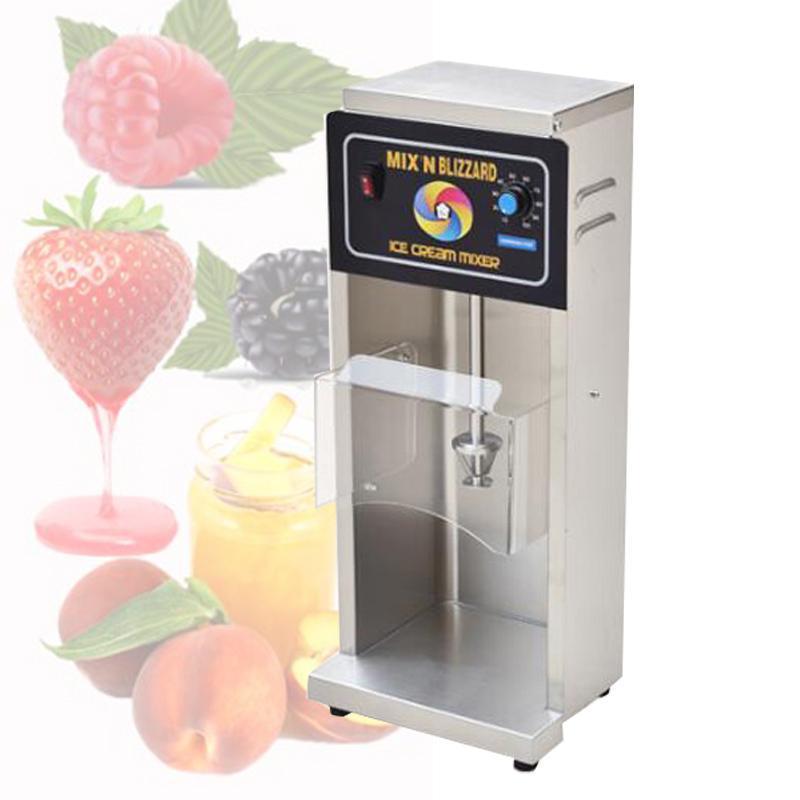 máquina de tempestade de neve de alta velocidade de aço inoxidável sorvete misturador sorvete que faz a máquina para venda