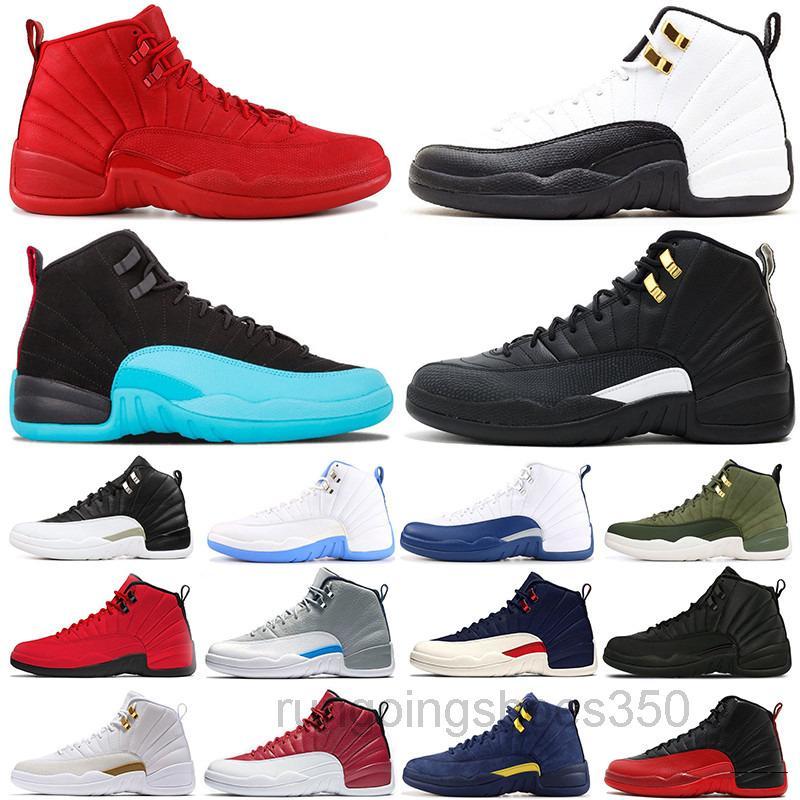 Zapatos de baloncesto para hombre Jumpman 11 Jubilee 25 aniversario BRED Concord 11S Juego de gripe inversa 12s El maestro 12 hombres mujeres al aire libre KHK6