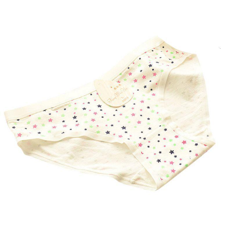 JLONG NOUVEAU Plus Taille M-XXXL Coton Femmes Sous-Vêtements Sous-vêtement Soft Pink Grand Code Panies Femmes Slips
