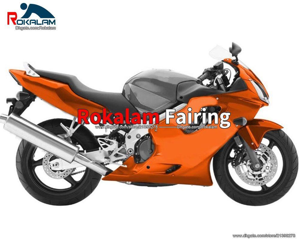 Honda CBR600F4i CBR 600 F4I 600F4i 2004 2005 2006 2007 CBRF4I 오토바이 오렌지 차체 부품 (사출 성형)
