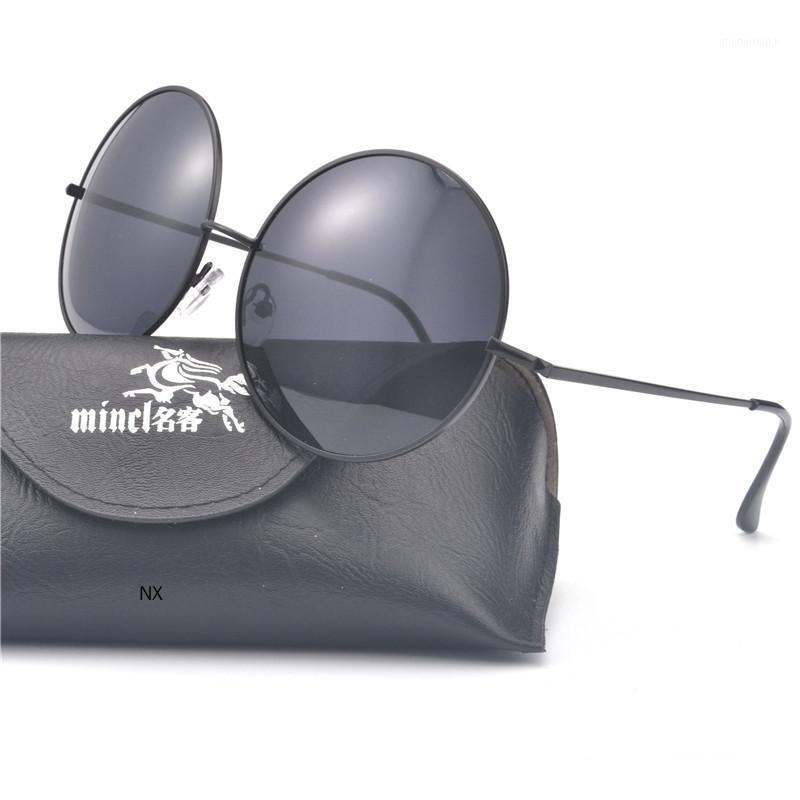 2020 punk retro gafas de sol hombres diseñador de la marca Gafas de sol de hombre Gafas de diseñador para mujeres redondas UV de gran tamaño NX1